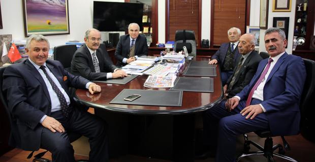 Girginer'den Büyükerşen'e ziyaret