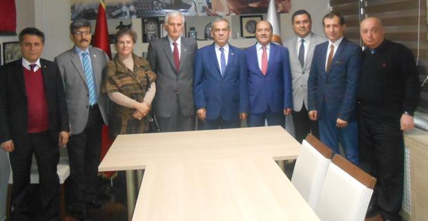 İYİ Parti'den Gazeteciler Cemiyeti'ne ziyaret
