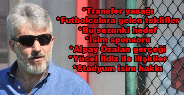 İzzet Erdoğan'dan çarpıcı açıklamalar