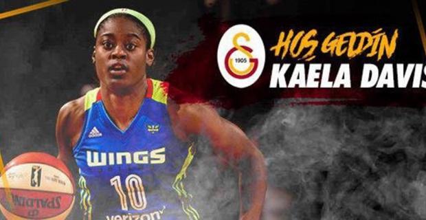 Kaela Davis Galatasaray'da