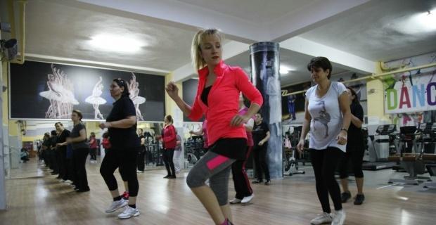 Step aerobik akşam gurubu ön kayıtları 8 Ocak'ta başlıyor