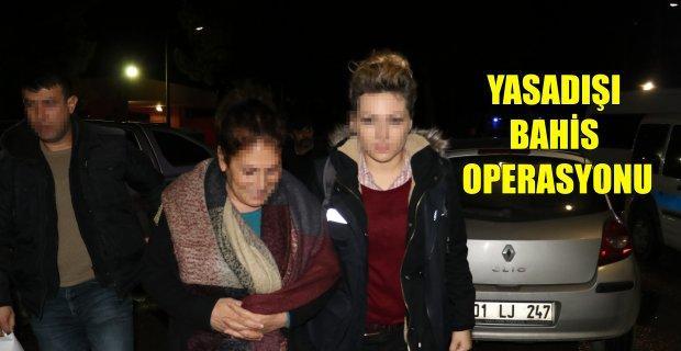 Bin polisle dev yasa dışı bahis operasyonu