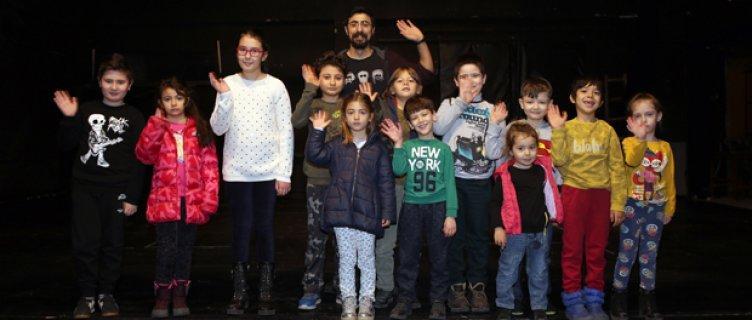 Çocuklara Özel Drama kursunda 2. dönem başladı