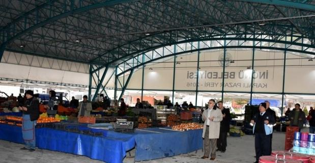 İnönü'de pazar tezgahları artık dua ile açılıyor