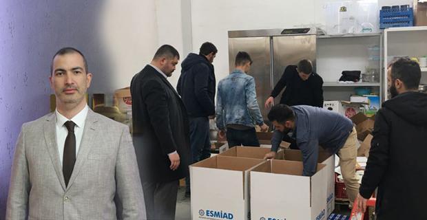 MHP'den ihtiyaç sahiplerine gıda yardımı