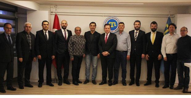 Selkaspor'dan Kırım Derneği'ne ziyaret