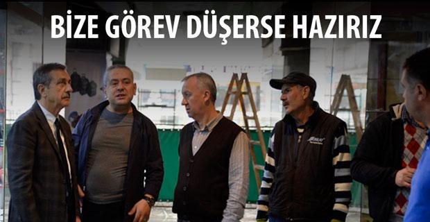Ahmet Ataç'tan geçmiş olsun ziyareti