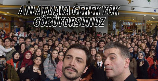 Ahmet Kural ve Murat Cemcir'den eğlenceli gala