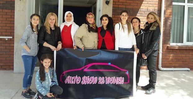 'Auto Show 26 Women' Türkiye'ye örnek oluyor