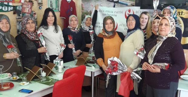 BBP'de Kadınlar Günü etkinliği