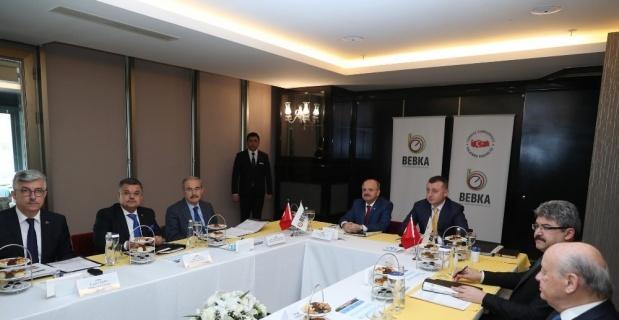 BEBKA'nın mart ayı toplantısı Eskişehir'de yapıldı