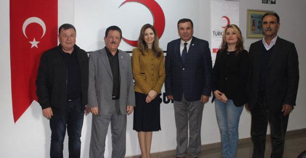 DSP'li Tambova'dan Kızılay'a ziyaret