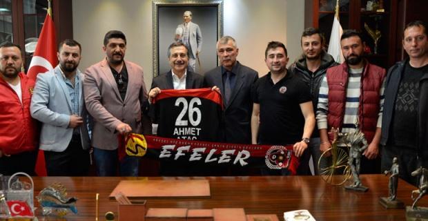 Efeler'den Başkan Ataç'a Ziyaret
