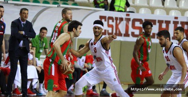 Eskişehir Basket: 66 - Pınar Karşıyaka: 72