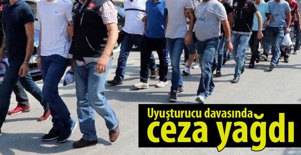 Eskişehir'de uyuşturucu davasında ceza yağdı