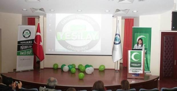 ESOGÜ'de 'Bağımlılıkla İlgili Konferans ve Karikatür Sergisi'