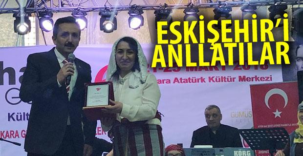 Festivalde Eskişehir'i anlattılar