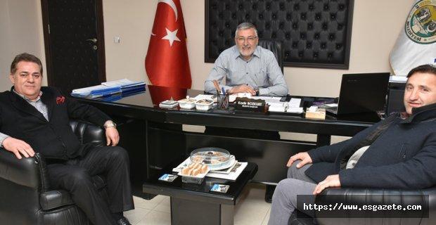 Halil Ünal Başkan Bozkurt'u ziyaret etti…