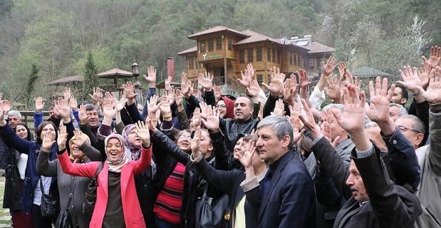Haluk Levent'ten 'HES'e Hayır' desteği