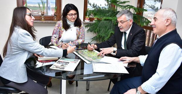 İnönü Belediyesi ve ESOGÜ arasında işbirliği