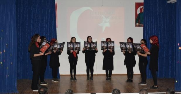 İnönülü öğrencilerden Çanakkale Zaferi ve Şehitleri Anma Günü programı
