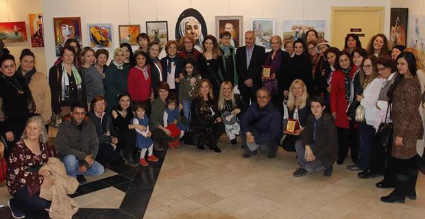 Kadın Sanatçılar Dünya Kadınlar Gününü sergi  ile kutladı