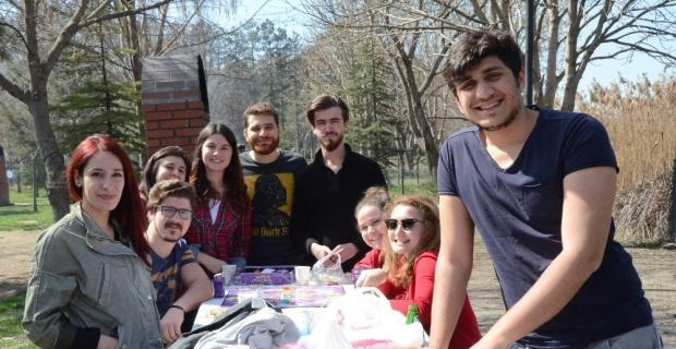 Mesire alanlarında piknik keyfi
