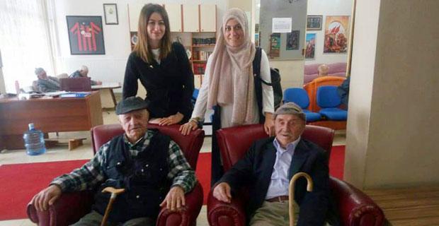 MHP'li kadınlardan yaşlılara vefa