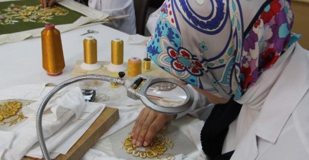 Osmanlı hanedanlarına Maraş işi göz nuru puşide