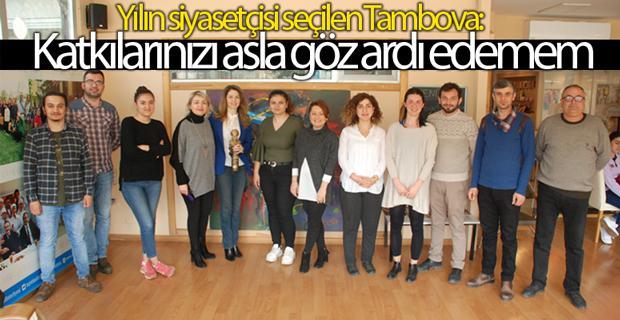 Tambova:  Siyaset ve basın ayrılmaz bir bütündür