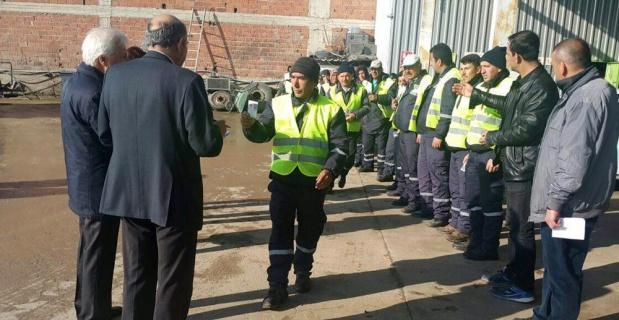 Tepebaşı'nda taşeron personel sınavları