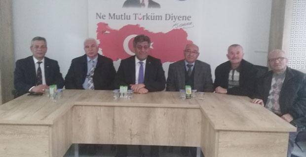 Türk Emekli-Sen'den Urfalı'ya ziyaret