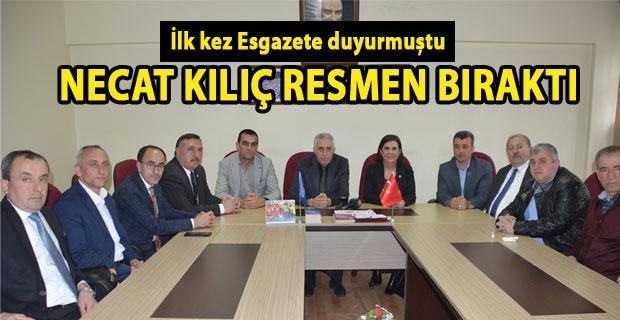 Türk İş Temsilcisi Necat Kılıç veda etti