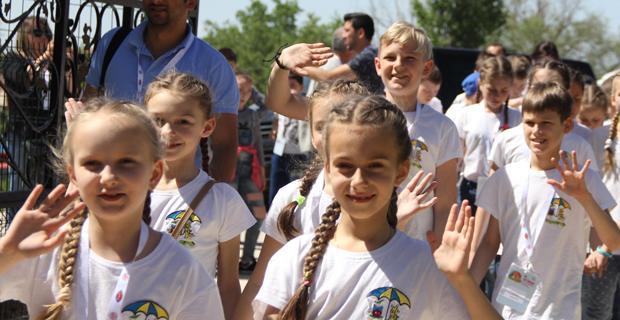Dünya çocukları Eskişehir'de