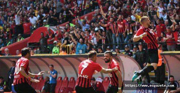Eskişehirspor rahat bir nefes aldı:5-0