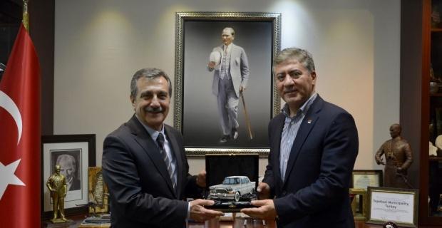 Milletvekili Emir'den Başkan Ataç'a ziyaret