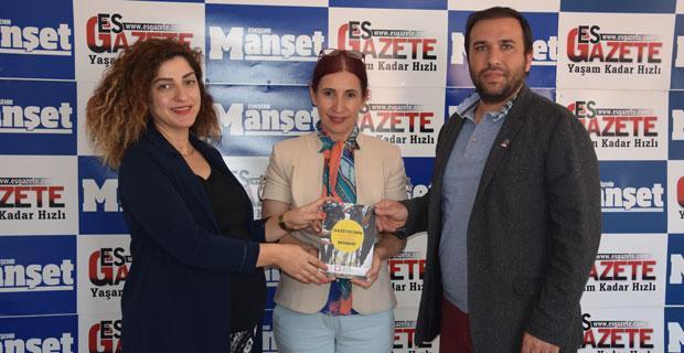BYEGM'den Esgazete ve Manşet Gazetesi'ne ziyaret