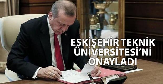 Cumhurbaşkanı Erdoğan'dan 20 yeni üniversite öngören kanuna onay