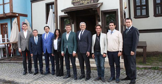 EOSB Yönetim Kurulu ESİAD'ı Ziyaret Etti