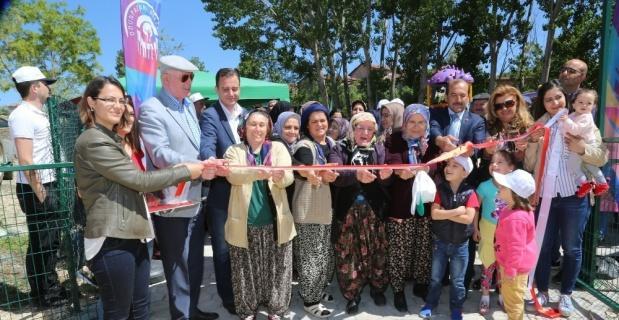 Odunpazarı Belediyesi'nden Akçakaya'ya yeni park