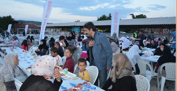 Seyitgazi'de iftar programları başlıyor