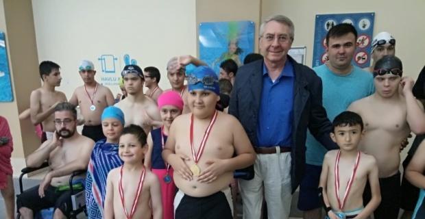 Su Sporları Merkezi'nde en güzel madalya sevinci