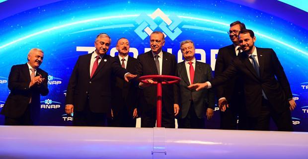 Asrın projesi TANAP Eskişehir'de hayata geçti