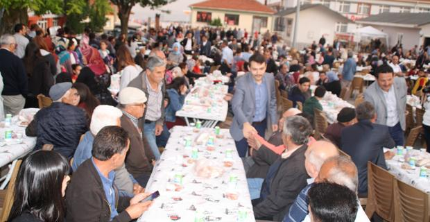 Mihalıççık Kaymakamlığı Şehit ailelerine iftar yemeği verdi