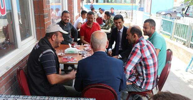 Milletvekili adayı Bıyık Mahmudiye'de