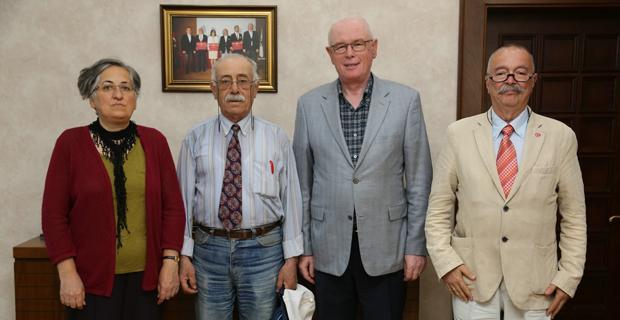 Vatan Partisi Başkan Kurt'u ziyaret etti
