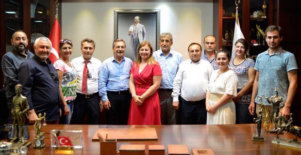 Belçika Milletvekili Turan'dan Başkan Ataç'a Ziyaret