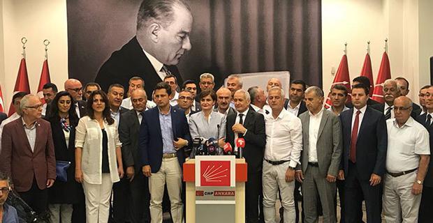 CHP'li 59 İl Başkanından Kılıçdaroğlu'na destek