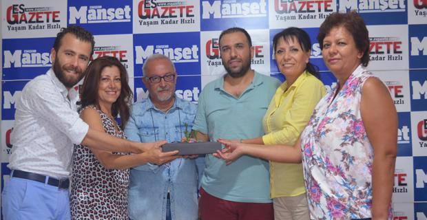 ETOS'tan gazetecilere 'Yeşeren kitap'