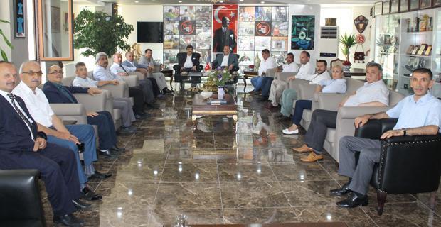Karacan, ESOB'yi ziyaret etti